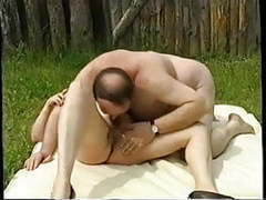 Oldies outdoor orgy videos