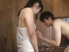 Koyuki ono brunette bimbo blows cock like an angel videos