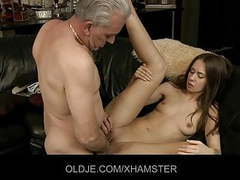 Old cock experiences young asshole videos