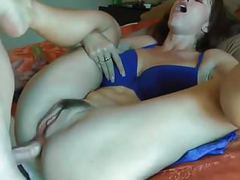 Foul mouth slut with big tits gets assfucked videos