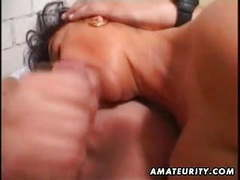 Mature amateur wife homemade anal with facial cumshot movies