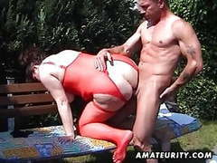 Chubby amateur milf sucks and fucks in the backyard movies at find-best-lingerie.com
