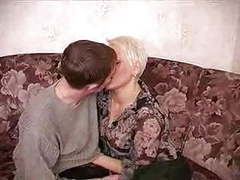 Horny mother wakes up her young lover videos