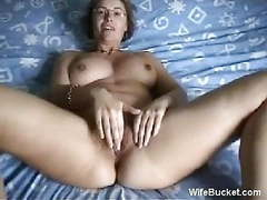 Milf wife fucking herself movies at find-best-tits.com