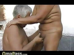 Grandpa and guy fucking chubby grandma outdoors movies at dailyadult.info