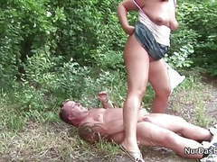 German milf mom seduce to fuck outdoor by young boy videos