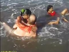 Indian sex orgy on the beach movies at relaxxx.net