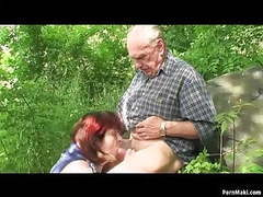 Granny and grandpa fuck outdoor movies at find-best-ass.com