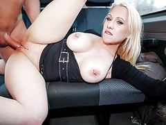 Bums bus - wild bus fuck with busty german milf celina davis movies at freekilosex.com