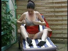 German mature silke fucks herself outdoor tubes