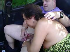 German milf mom seduce to fuck outdoor by stranger videos