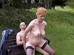Granny outdoor videos