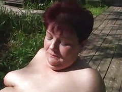 Redhead mature bbw fucked outdoors videos