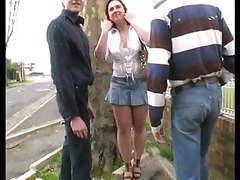 Sylvie fait la pute ! elle se fait tirer en pleine rue !!! movies at kilovideos.com