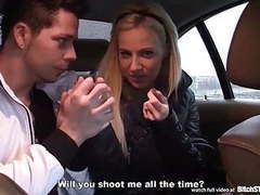 Bitch stop - smoking hot blonde in car action movies at find-best-babes.com