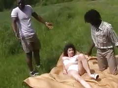French milf hot anal with 2 african imigrants movies at kilogirls.com