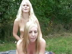 Young german lesbians outdoor strapon movies at find-best-mature.com
