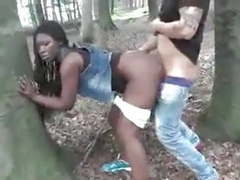 Ebony wife fucked outdoor by white dick cuckold film movies at freekilomovies.com