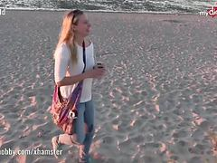 My dirty hobby - hot public blowjob on the beach videos