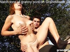 Horny old bitch amanda stalled car premise fuck on grandmams movies