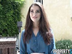 Propertysex - hot agent convinces yoga dude to sell house videos