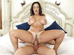 Stepmom has huge knockers and son loves it! - ava addams videos