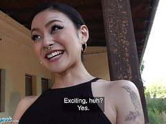 Public agent japanese beauty rae lil black fucks for cash videos