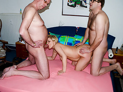 Amateureuro - german gilf teresa r. has hot anal in mmf sex movies at kilomatures.com