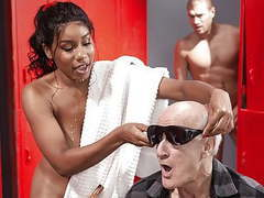 Jenna foxx acts blind and gets a huge dong for the trouble videos