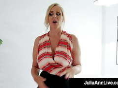 Sold! busty milf julia ann sells home with world class bj! videos