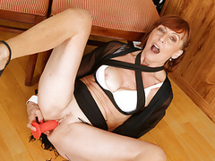 European gilf danina gives her yearning pussy what it needs movies at find-best-mature.com