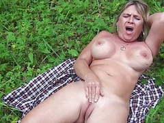 Slut diane masturbating outdoor movies at find-best-pussy.com