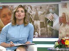Eva novodomszky - sexy hungarian tv host movies at freekilomovies.com