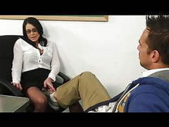 Horny kendra fucked on her desk movies at freekilomovies.com
