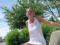 German blonde milf outdoor creampie movies