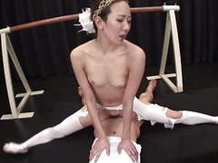 Uncensored japanese milf ballerina threesome with splits movies at find-best-videos.com