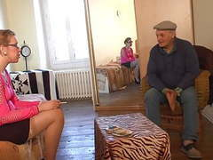 Young woman in stocking fuck with old man movies at find-best-videos.com