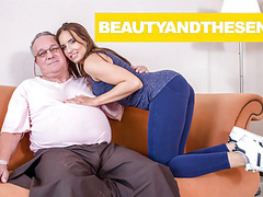 Grandpa loves his little slut movies at kilovideos.com