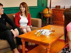 Japanese honey, maki koizumi fucks a friend, uncensored videos