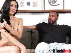 Curvy asian mia tricked into hard bbc riding 1st time movies at freekilosex.com