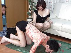 Japanese femdom daughter mischief videos
