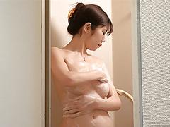 Japanese girl shower and lingerie videos