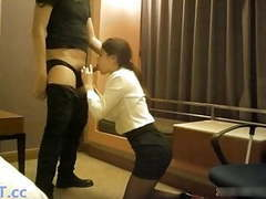 Chinese office slut fucks with boss videos