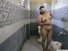 Bhabhi dipinitta filmed in shower movies at freekilomovies.com