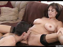 Experienced milf fucks young boy movies at kilogirls.com