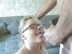 Blonde milf sucks cock and fucked in pussy movies at freekiloporn.com