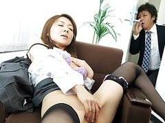 Japanese lady, mao saitou is masturbating, uncensored movies at find-best-ass.com