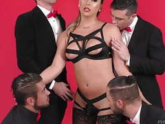 Stunning shemale chanel santini enjoyed by guys. evil angel movies at kilomatures.com