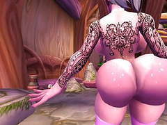 Night elf lapdance videos
