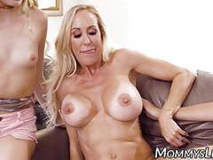 Milfs are fingering and licking young tattooed lesbian movies at freekilomovies.com